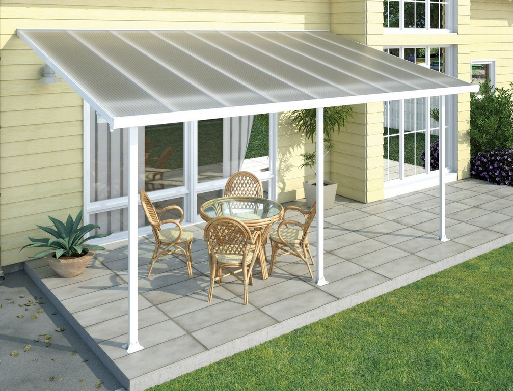 Perfekte Terrassenberdachung Terrassendach Im Garten throughout proportions 1500 X 1144