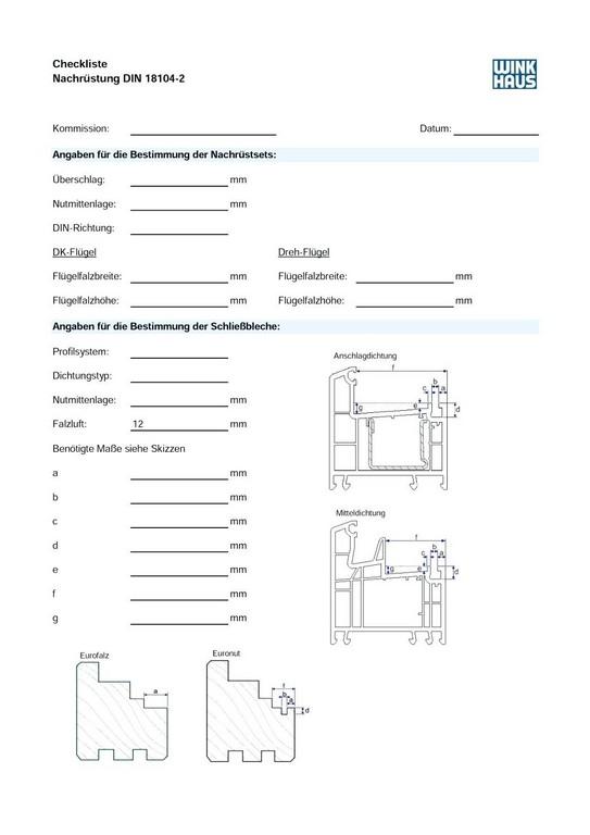 Pilzkopfe Nachrusten Winkhaus Checkliste Nachra Stung Din regarding size 1044 X 1476