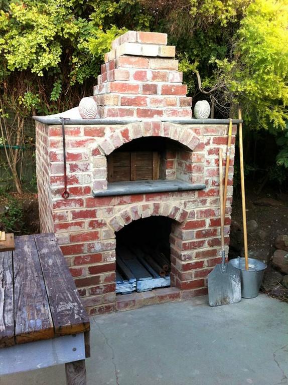 Pizzaofen Bauen Anleitung Und Fotos Diy Garten Haus Garten inside size 800 X 1070