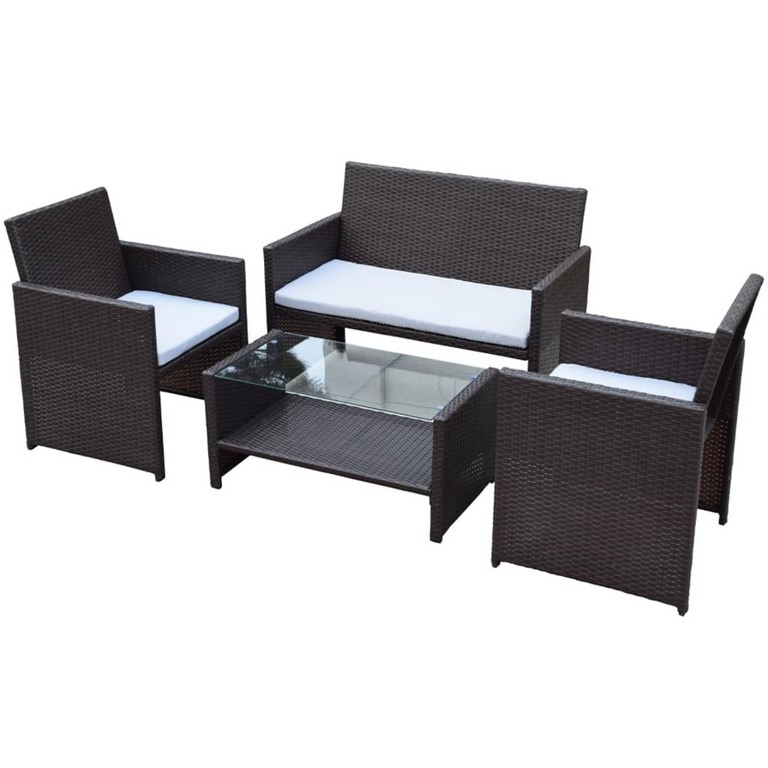Polyrattan Gartenmbel Gartenmbel Set Real with proportions 1024 X 1024