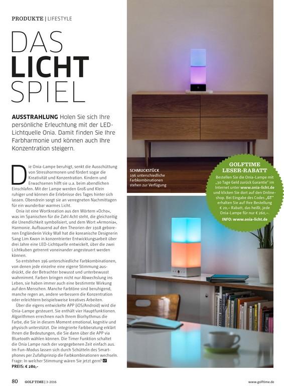 Presse Berichte Designlampe Mit Integrierter Licht pertaining to measurements 1327 X 1800
