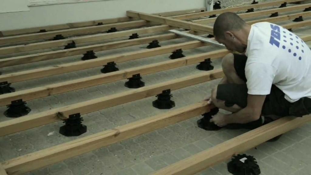 Professionelle Montage Einer Holzterrasse Professional in size 1280 X 720