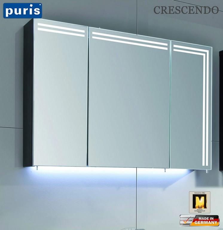Puris Crescendo Led Spiegelschrank 90 Cm S2a439l23 Impuls Home in proportions 1374 X 1415