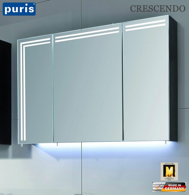 Puris Crescendo Led Spiegelschrank 90 Cm S2a439r23 Impuls Home in size 1402 X 1444