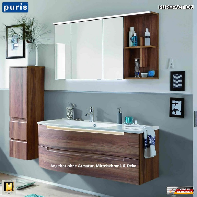 Puris Purefaction Badmbel Als Set 120 Cm Rechts Version Impulsbad for measurements 1440 X 1440