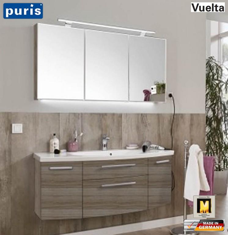 Puris Vuelta Badmbel Set 121 Cm Mit Mineralmarmor Waschtisch Und pertaining to sizing 1103 X 1136