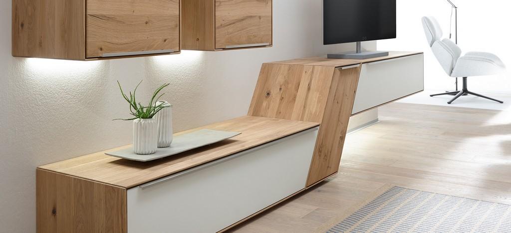 Ramos Wohnwand Modern Massiv Decker Massivholzmbel 10004 throughout sizing 2050 X 935