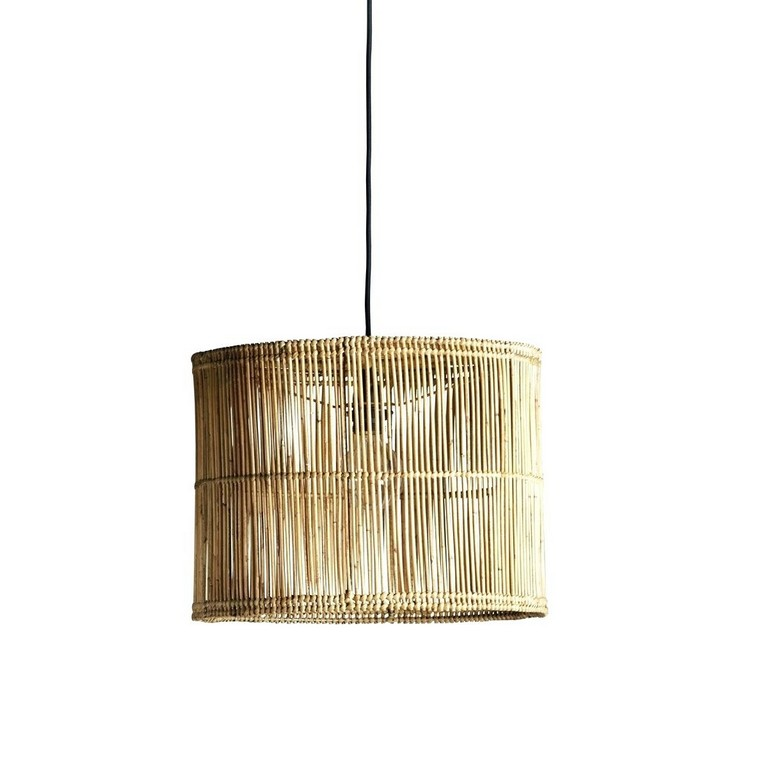 Rattan Lampe Vintage 1960er Lampenschirm Oval Grau Grote Rotan in size 1200 X 1200