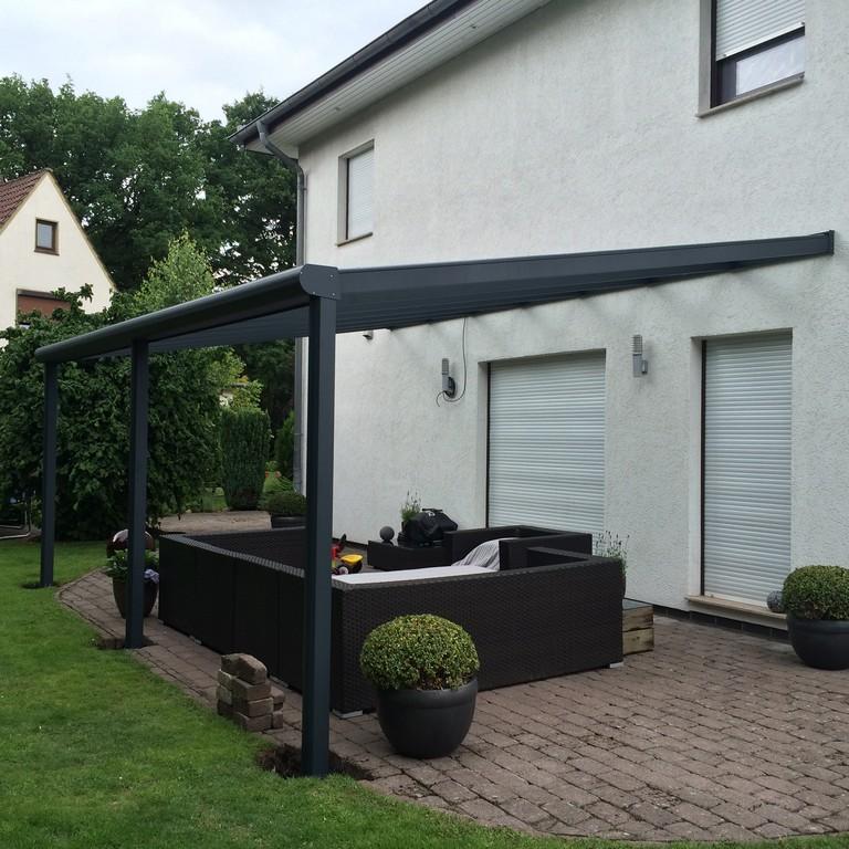 Referenz Montage Terrassenberdachung Bremerhaven regarding measurements 2448 X 2448