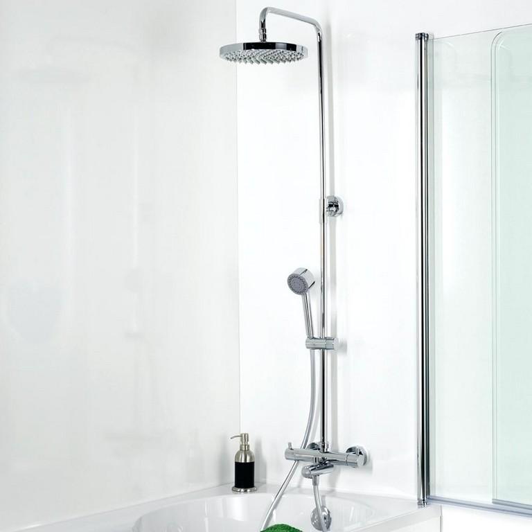 Regendusche Nachrusten Duschsystem Mit Handbrause Und Seifenablage with regard to measurements 1000 X 1000