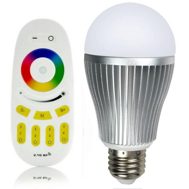 Rgbw 9w Led Lampe Mit Fernbedienung Jetzt Gnstig Kaufen in size 1024 X 1024