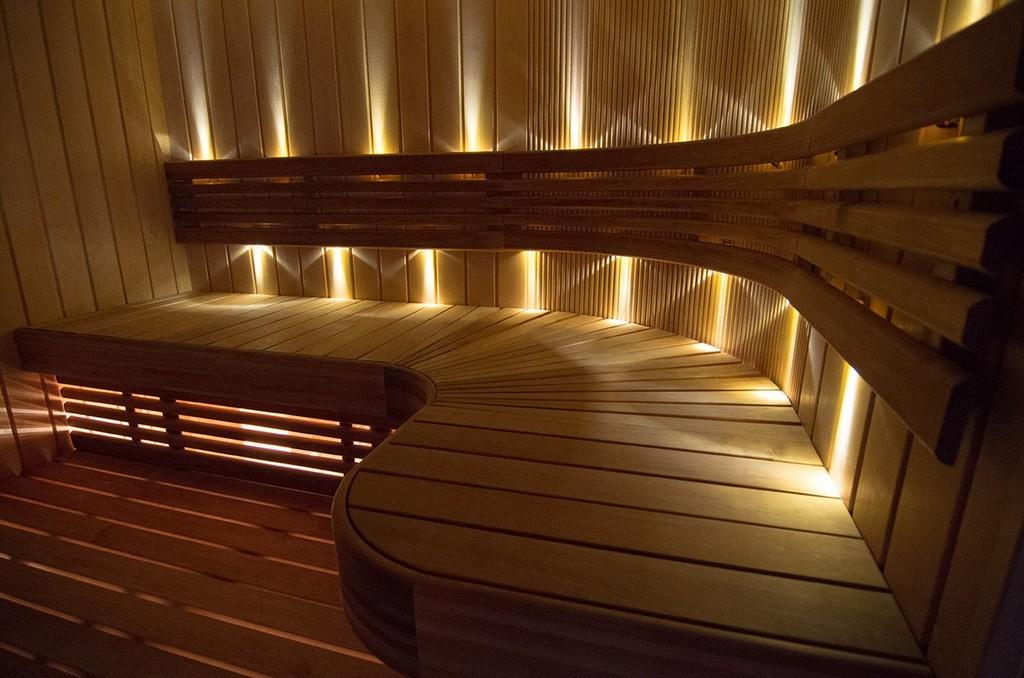 Sauna Led Beleuchtung Sun Gold Warmwei Saunainter pertaining to size 1208 X 800