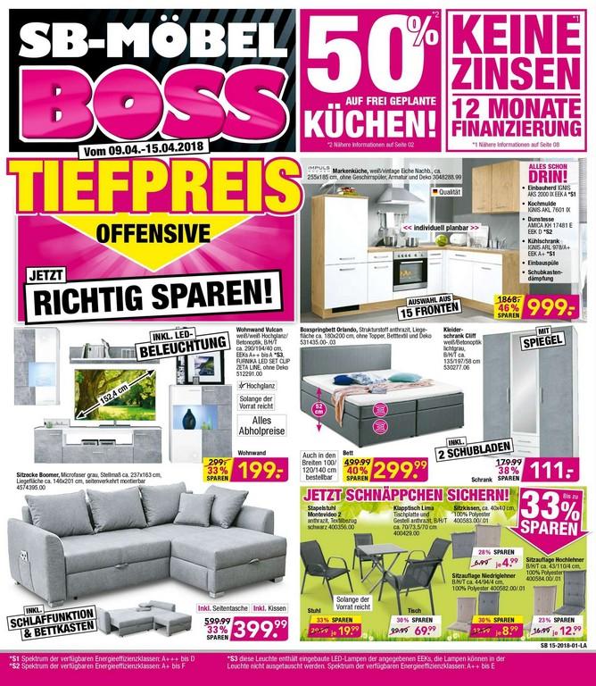 Sb Mbel Boss Beste Preise Fr Alle 09042018 15042018 pertaining to size 1739 X 2000