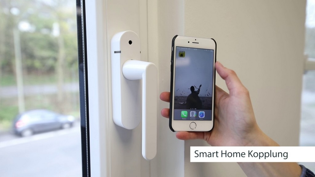 Schellenberg Funk Fenstergriff Mit Alarm In Der Smart Home App intended for proportions 1280 X 720
