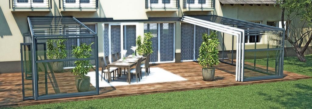 Schiebbare Terrassenberdachung Einfach Terrassenberdachung Alu Zum for size 1680 X 590