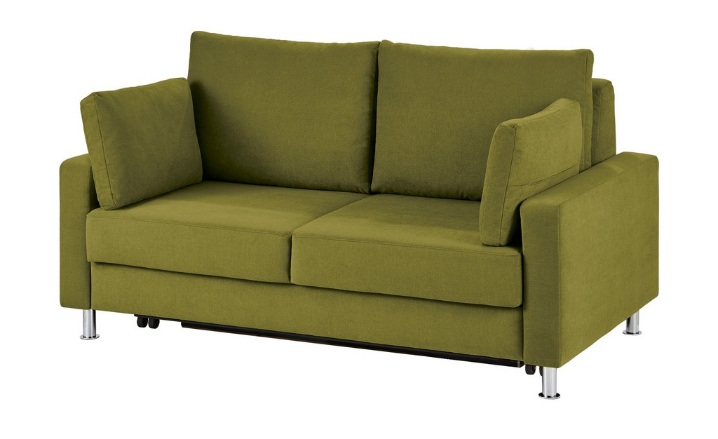 Schlafsofa Grn Mikrofaser Frth Grn 140 Cm intended for measurements 2000 X 1222