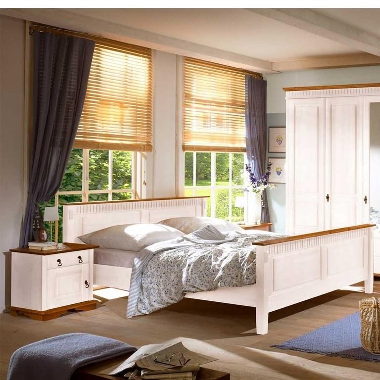 Schlafzimmer Einrichtung Maya In Wei Wohnende throughout proportions 1000 X 1000