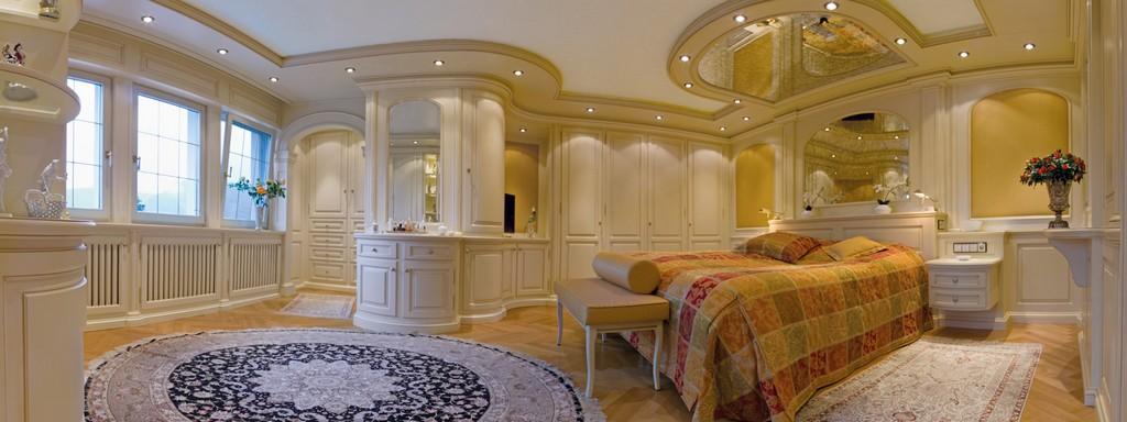 Attirant Schlafzimmer Im Landhausstil Hochwertig Und Exklusiv Throughout Proportions  1600 X 600