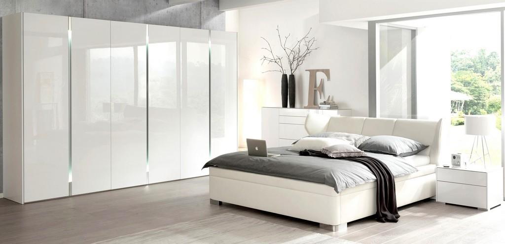 Schlafzimmer Komplett Wei Hochglanz Inspirierend In Weiss for size 2800 X 1356