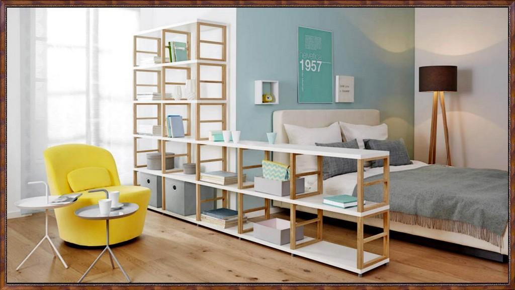 Schlafzimmer Mit Raumteiler Huisontwerp Ideen Verfraaien intended for proportions 1500 X 845