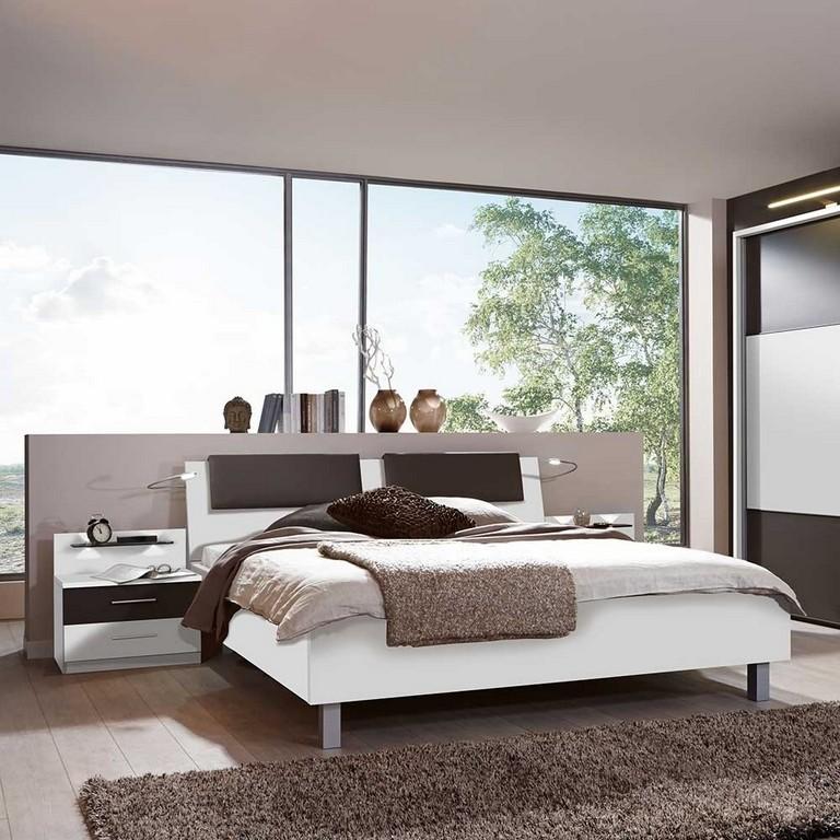 Schlafzimmer Set Rajada In Wei Braun Wohnende in size 1000 X 1000