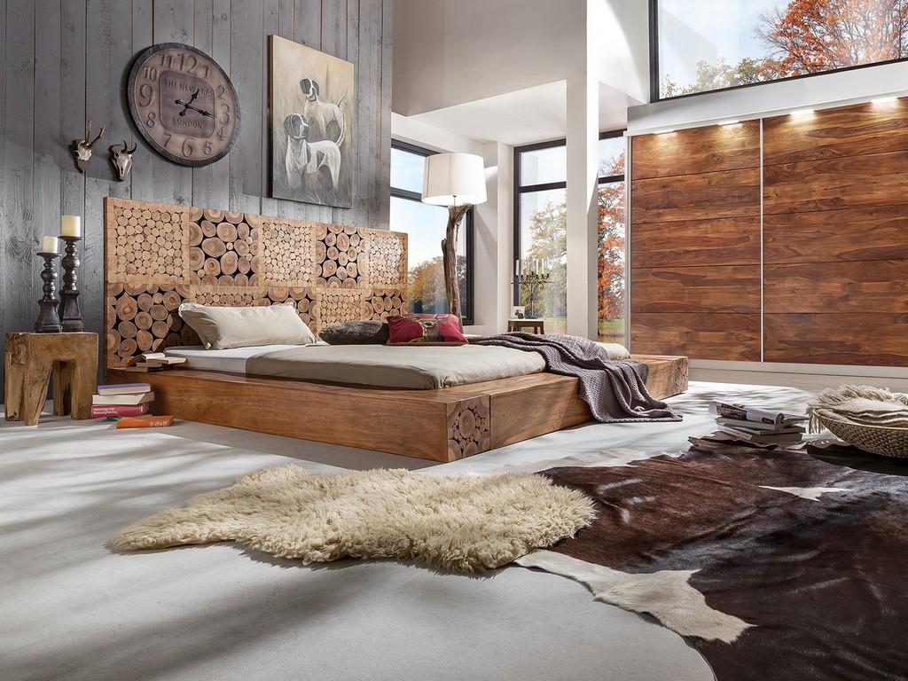 Schlafzimmer Set Vollholz Und Wohnzimmer Schwarz Weiss 1 Images in proportions 1600 X 1200