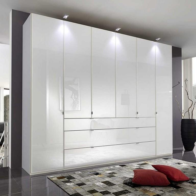 Schlafzimmerschrank Atze In Wei Glas Beschichtet regarding proportions 1000 X 1000