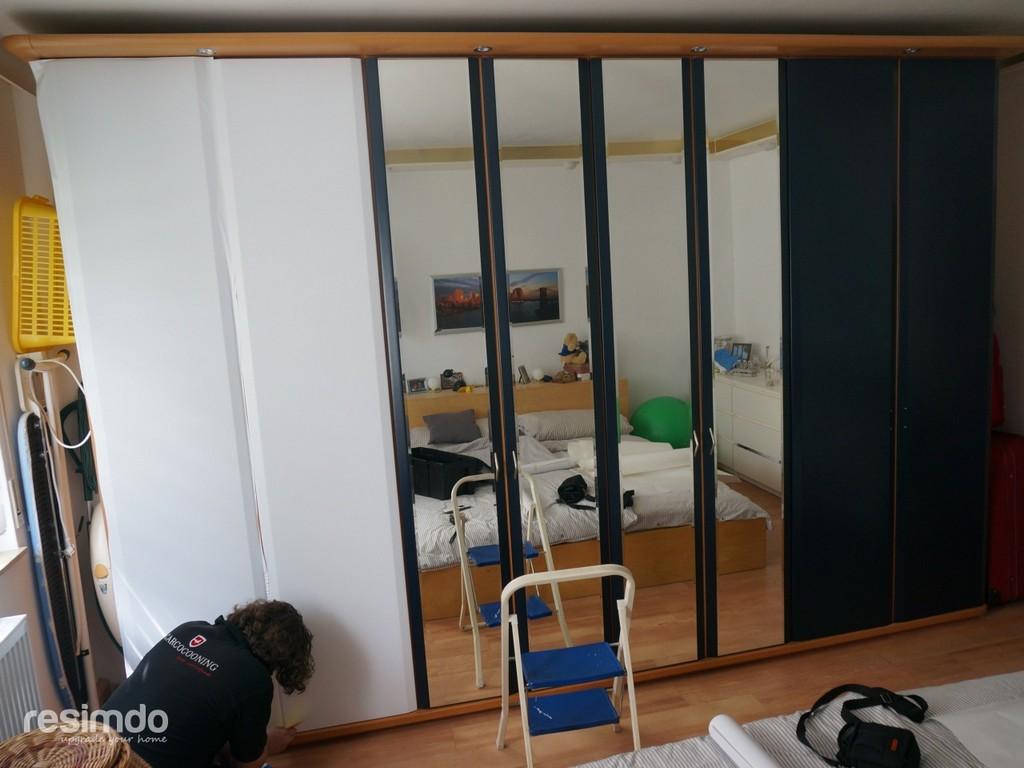 Schrank Klebefolie Wei Resimdo inside proportions 1280 X 960