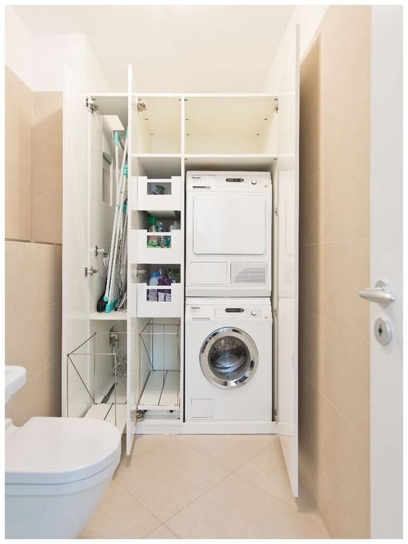 Schrank Waschmaschine 198045 Wir Renovieren Ihre Kche Einbauschrank regarding measurements 768 X 1024