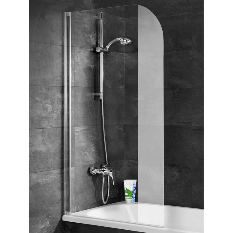 Schulte Badewannenaufsatz Ohne Bohren Echtglas Alu Natur 140 Cm X 80 within sizing 1500 X 1500