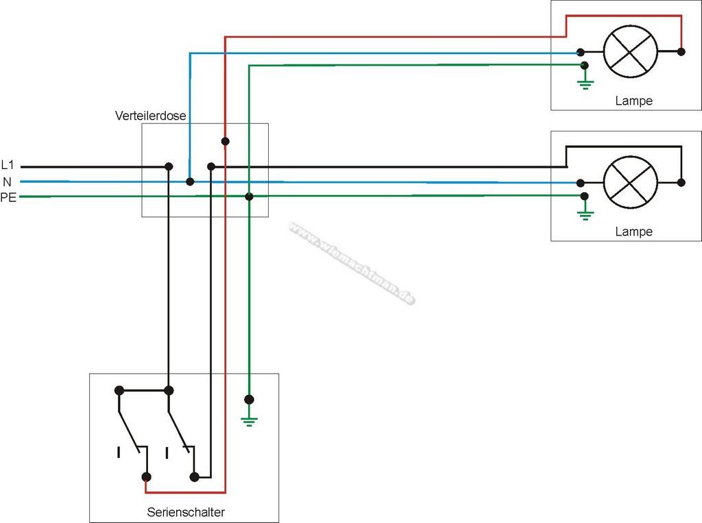 Serienschaltung Schaltplan inside proportions 1542 X 1151