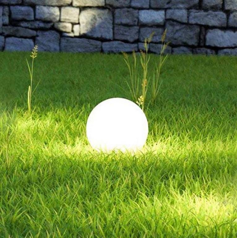 Sluce Globe Garten Kugelleuchte 30 Cm Real within proportions 1022 X 1024