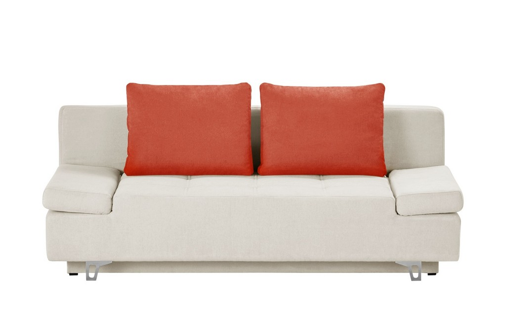 Smart Schlafsofa Patriece Wollwei Orange Mbel Kraft with proportions 2000 X 1222