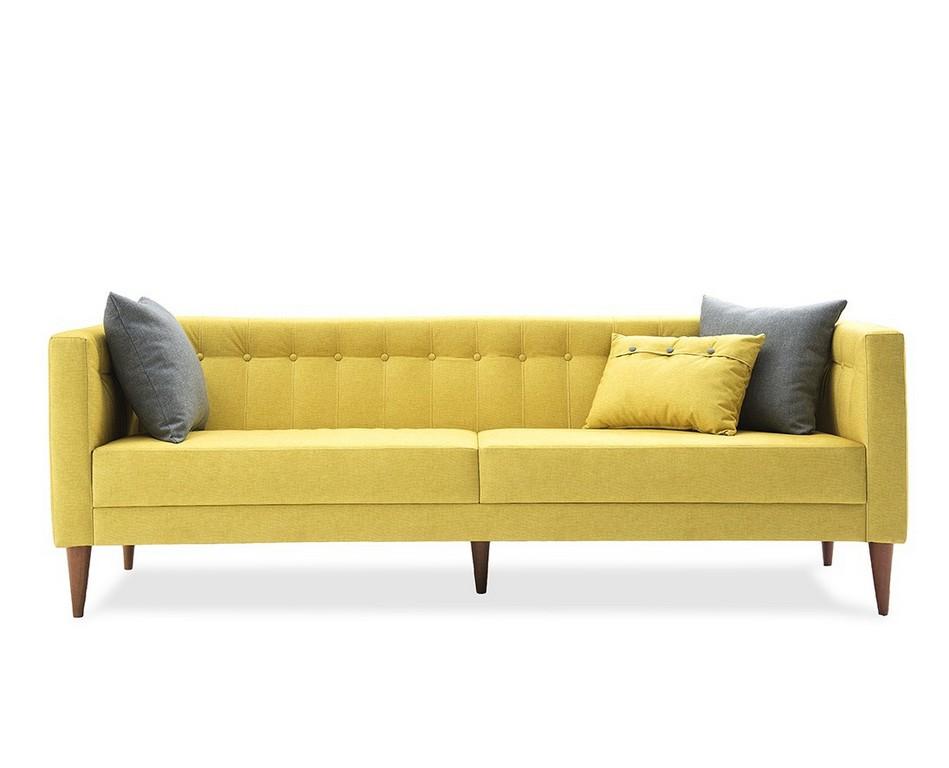 Sof Fixo 03 Lugares Neon Amarelo C 03 Almofadas 223 M Minha within size 1096 X 887