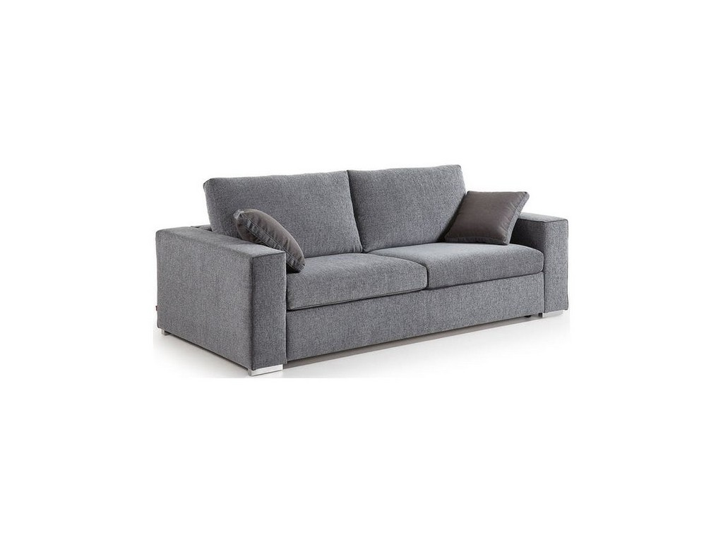 Sofa Big Ii 180 Cm Szara Laforma Sfmeblepl for size 1200 X 900