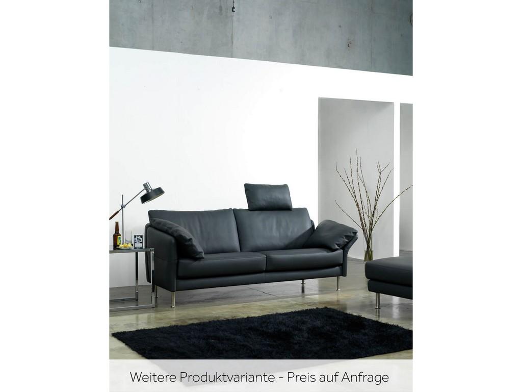 Sofa Cielo 2 Sitzer Von Intertime Chrom Glanz Schwarz Schubiger Mbel in proportions 1740 X 1305