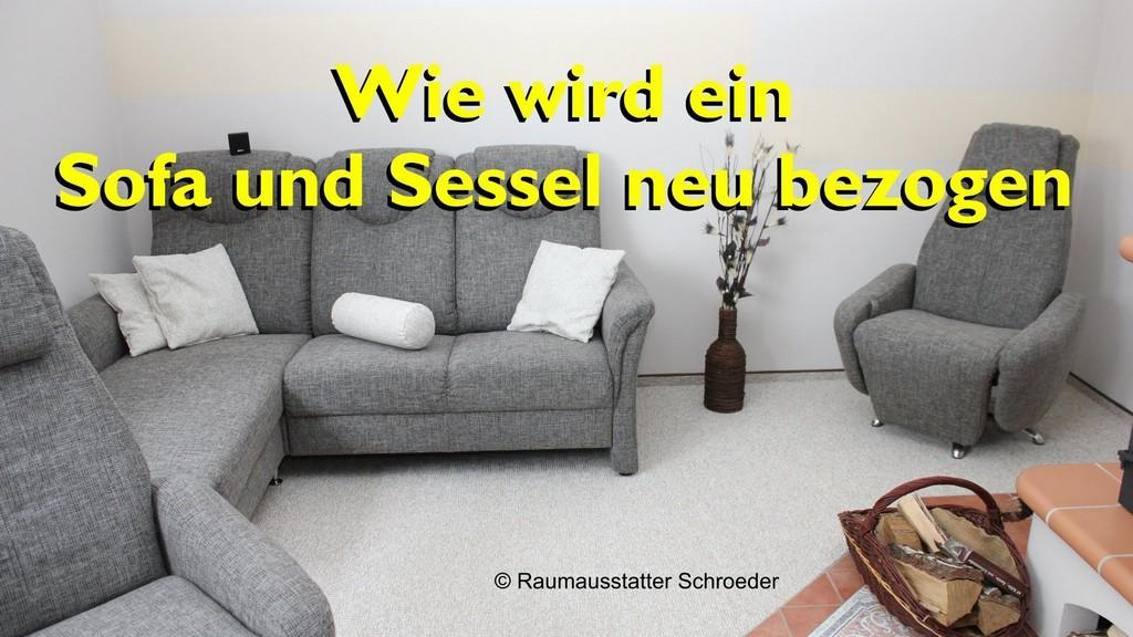 Sofa Und Sessel Neu Beziehen Polstern Couch Reupholstery Time regarding size 1924 X 1082