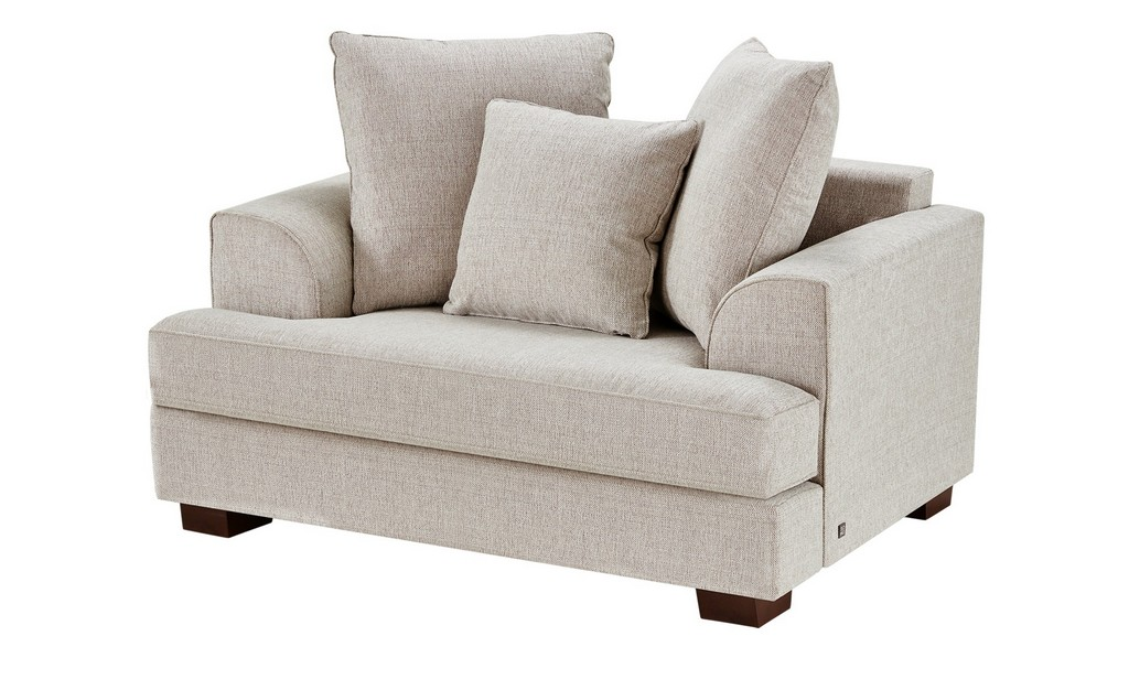 Soho Sofa Braun Webstoff Franka Sand 15 Sitzer with regard to sizing 2000 X 1222