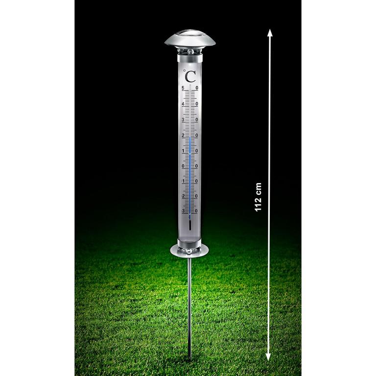 Solar Gartenthermometer 3 Jahre Garantie Pro Idee inside dimensions 1300 X 1300