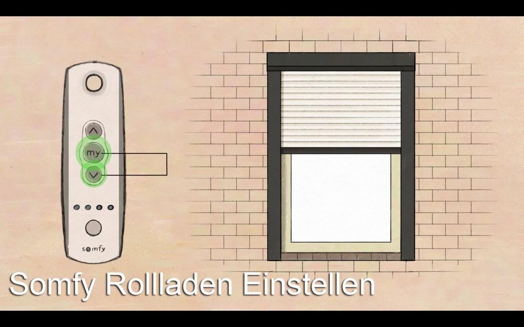 Somfy Rolladenmotor Einstellen Anleitung Durch Creon Rollladen pertaining to dimensions 1680 X 1050