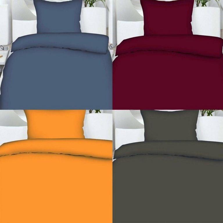 Sommer Bettwsche 135x200 Oder 155x220 Uni Einfarbig Microfaser Von for size 1075 X 1075