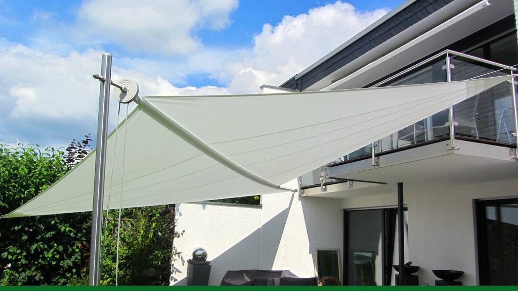 Sonnensegel Aufrollbar Elektrisch Schn Sonnensegel Design Terrasse inside proportions 1600 X 900