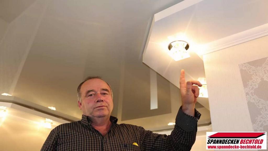 Spanndecken Montage Spanndecken Mit Indirekter Beleuchtung Rgb in dimensions 1280 X 720