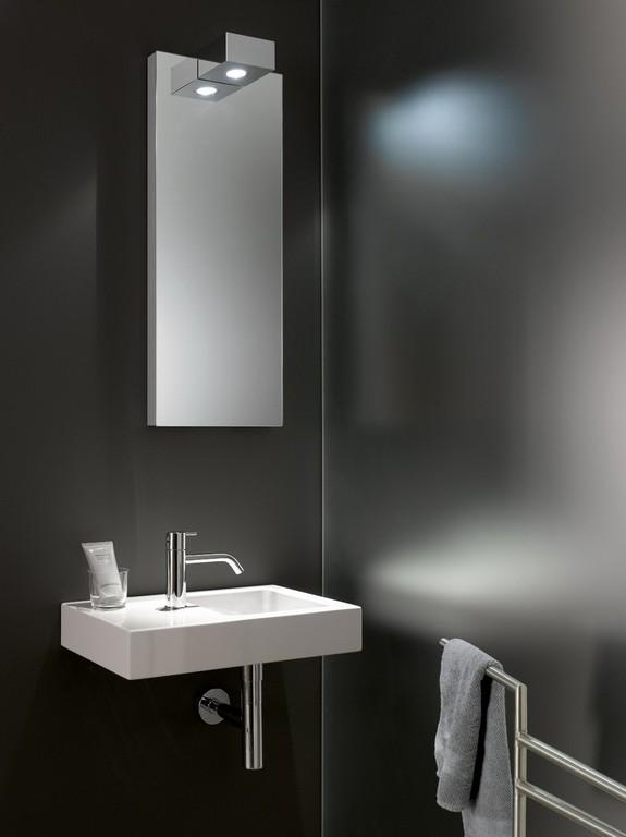 Spiegel Mit Beleuchtung Gste Wc Hause Dekoration Ideen pertaining to measurements 960 X 1282