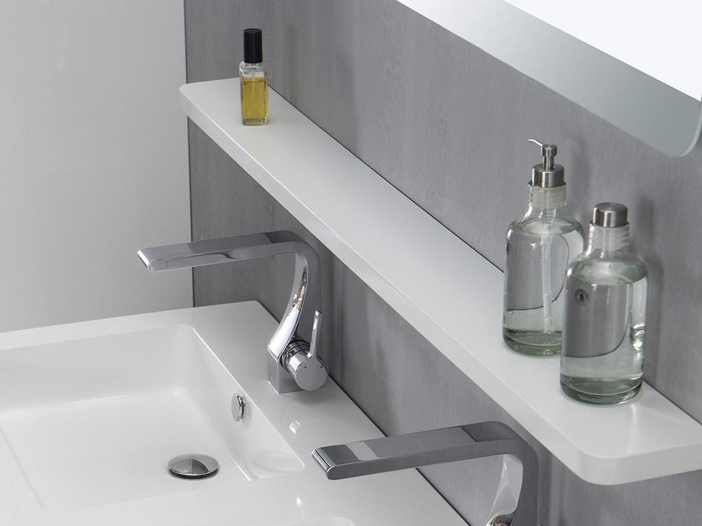 Spiegelablage 120 Cm Wei Badewelt Badezimmer Mbel throughout size 1200 X 900