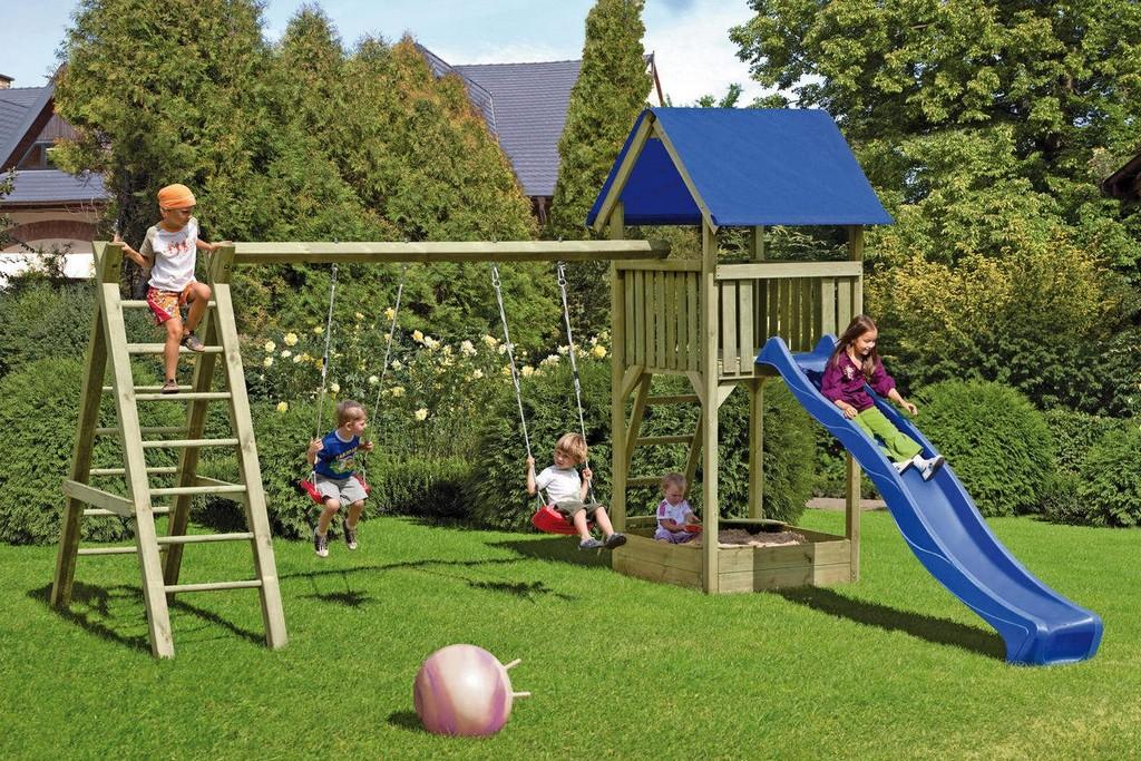 Spielanlage Lukas Mit Turm Und Schaukel Kantholz Kdi Von Tj Von T inside measurements 1280 X 854