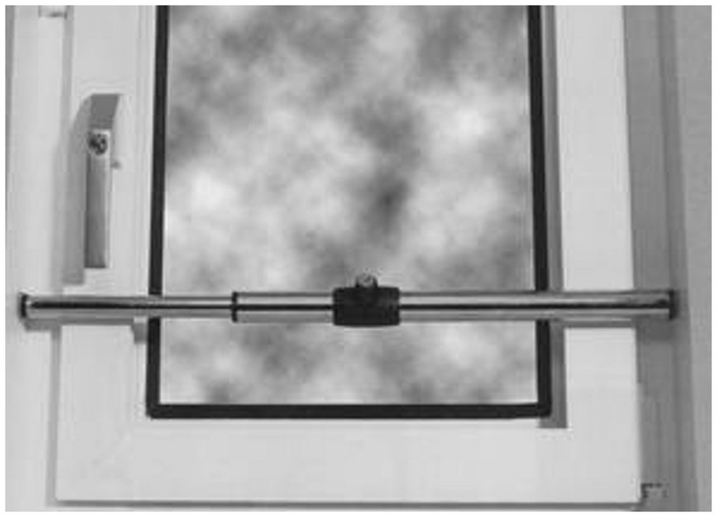 Teleskopstange Fenster 244150 Fenster Einbruchschutz Nachrsten inside sizing 1230 X 886