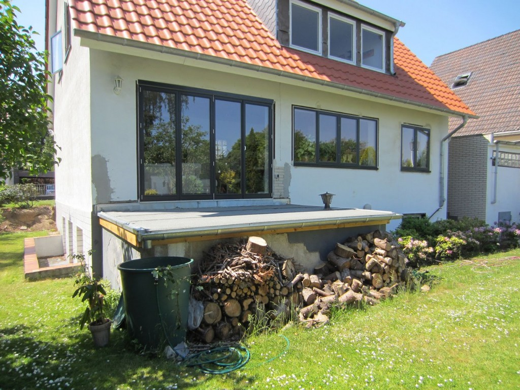 Terrasse Aus Stahl Mit Holzbelag Frbel Metallbau pertaining to measurements 1600 X 1200
