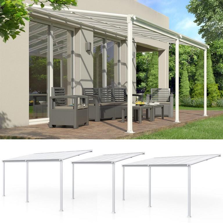 Terrassenberdachung Alu Vordach Pergola Dach Veranda Carport within proportions 1000 X 1000