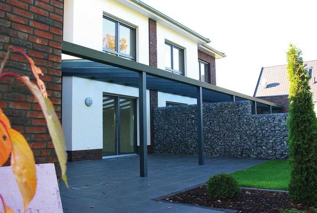 Terrassenberdachung Fr Das Reihenhaus Welche Mglichkeiten Gibt Es throughout proportions 1400 X 940
